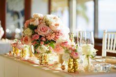 Photography: fotogénica #ハワイ #ハワイ挙式 #海外ウエディング #テーブル装花