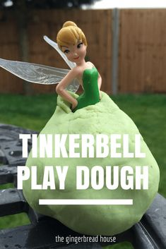 Tinkerbell play dough - the gingerbread house