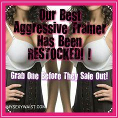 DIVA RESTOCK ALERT ☆ ☆ #TAG & #SHARE SEXY AGGRESSIVE ALL BLACK SPORT LATEX CINCHER  #Training #Today! Lose inches! Real People #Real #Results! #trainhard #playhard #hourglassfigure #teamnowaist #corsettraining, #waisttraining, #waisted, #snatchitback, #corsets, #snatched, #waistshaper, #snatchedwaist, #waisttrainer, #waistcinchers, #mysexywaist, #whatsawaist, #smallwaist, #nowaist, #getwaisted www.Mysexywaist.com