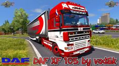 Daf Xf 105 mod for New changelog for actual version – fixed external models of hatches. Truck Mods, New Mods, Video Contest, K 1, Old Trucks, Games, Plays, Gaming, Game