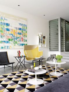 Pocos colores y elementos con mucho impacto hacen de Annandale un hogar acogedor.