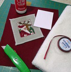 Focus on Finishing: Christmas Ornament Tutorial