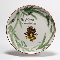What an easy way to create a quick Christmas plate!