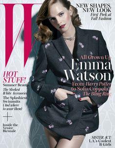 Emma Watson - W Magazine Cover [United States] (June 2013)