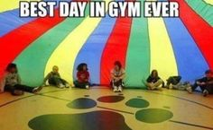 Parachute day: | 50 Things That Look Just Like Your Childhood. So true!