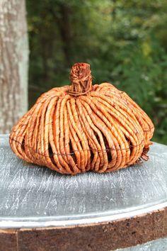 Cornhusk Pumpkin Small