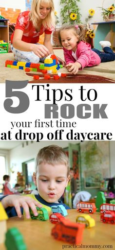 5 tips to rock your first time at drop off daycare