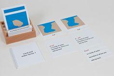 Land & Water Form Cards: Set 1  £78.80 Land & Water Form Cards: Set 2  £74.90 Land & Water Forms: Card Set  £63.27