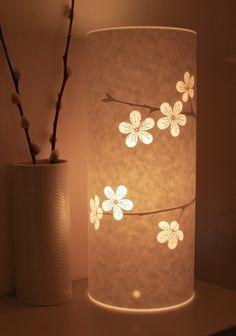 Cherry Blossom Lamp by Hannahnunn on Etsy, $105.00