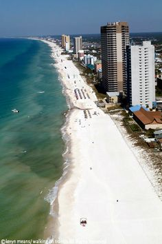 Friday Postcards from above Panama City Beach in Florida