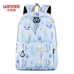 713d1bd03e WINNER 2018 New School Backpacks For Teenage Girls Fashion Leaves Printing Backpack  Women Mochila Fresh Rucksack