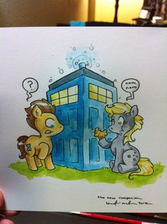 Doctor...Whooves? by Katie Cook