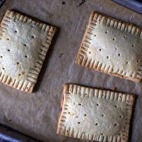 Homemade Pop Tarts by Smitten Kitchen.  Will try it with whole wheat flour...fingers crossed!