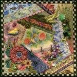 Nostalgic NeedleART Crazy Quilt ...I am going to try my hand at this.