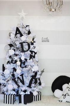 an alphabet christmas white xmas tree black christmas trees colorful christmas tree