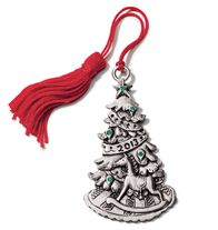 2013 ChristmasTree Pewter Ornament