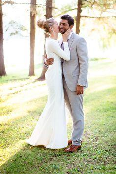 sleek elegant sophisticated wedding dress brides of adelaide magazine