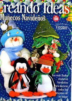 Como hacer muñecos pinguinos navideños Christmas Fabric, Christmas Books, Christmas Humor, Christmas Holidays, Christmas Crafts, Christmas Ornaments, Christmas Stuff, Book Crafts, Crafts To Do
