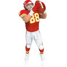 Tony Gonzalez - Christmas Ornaments - Hallmark 2014
