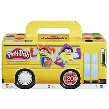 Play-Doh - Pack de 20 pots de pâte à modeler