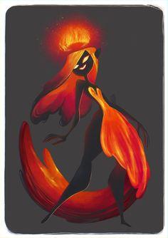 Fire Queen by SuperOotoro.deviantart.com on @DeviantArt