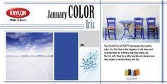 Iris - Krylon January '13 Color of the Month