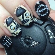 Mini Cooper Nails Mini Cooper S, Car Cakes For Boys, Mini Cooper Accessories, Mini Driver, Mini Morris, Mercedes G, Classic Mini, Mini Me, Audi A5