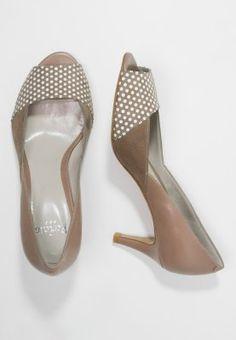 PERLATO Escarpins à bout ouvert - stone - ZALANDO.FR. Mél Ba · Shoes e9208234c8dc