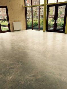 Lowbudget beton-look vloeren - Lowbudgetvloeren