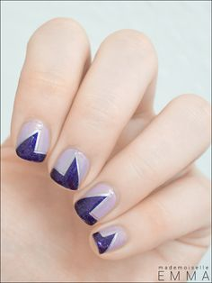 Geometric  #nail #nails #nailart