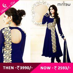 #Latest designer anarkali attire.Shop Now- http://bit.ly/1gchOED  #Salaam-e-Eid