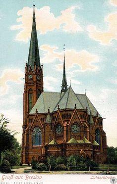 Kościół Lutra.Rok 1910