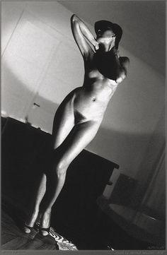 Helmut Newton, In My Apartment, Paris, 1977