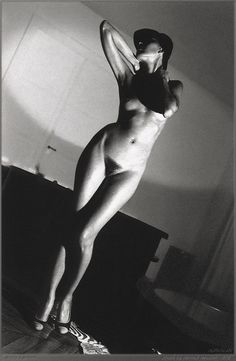 Helmut Newton, In My Apartment, Paris, 1977