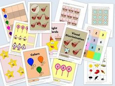 Here are seven fun file folder games with a birthday theme! They make great work tasks for students with autism or other special needs. They would also be appropriate for a kindergarten or preschool classroom.    The printable file folder games include:  Alphabet	  Patterns	  Numbers	  Number Sequence	  Visual Discrimination	  Sight Words	  Colors