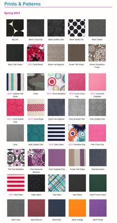2014 Spring Patterns