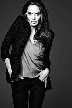 Angelina Jolie by Hedi Slimane, 2014
