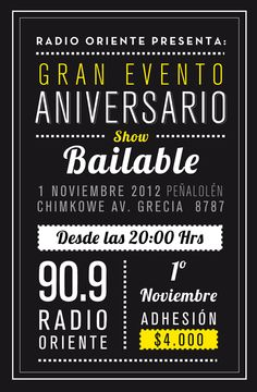 First Anniversary of East 90.9 FM Radio on Behance