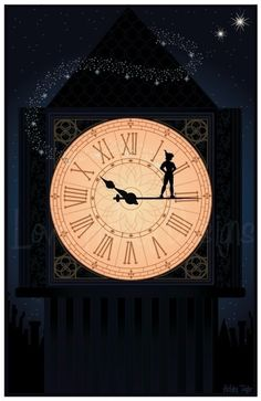 Peter Pan horloge