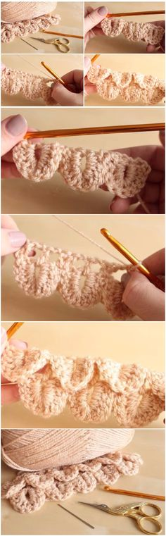 Crochet Crocodile Stitch Step By Step