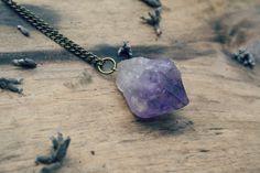 zara. amethyst necklace