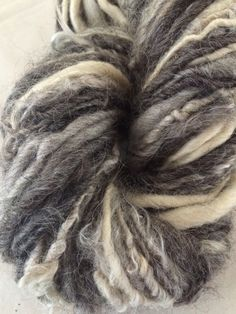 A personal favorite from my Etsy shop https://www.etsy.com/listing/230949497/six-fiber-multi-textured-wool-and-mohair