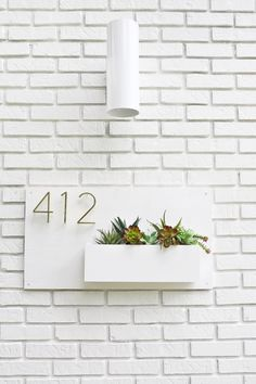 DIY Modern Address P