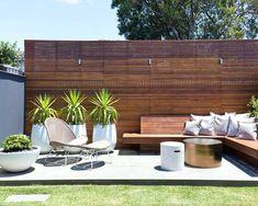 Mid Century Modern Patio Pavers Patio Mid Sized Modern Backyard ...