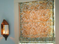 How to make roman shades