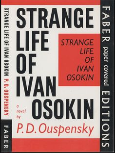 La extraña vida de Ivan Osokin. P.D. Ouspensky