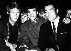 Steve McQueen, Bruce Lee and Fumio Demura