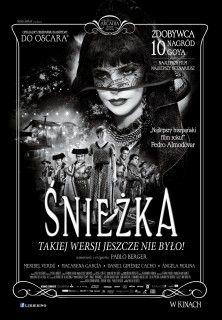 Polski plakat niemego filmu śnieżka