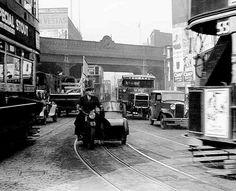 Great Eastern Street looking north. 1930s