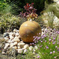 Elegant 6 Schritte Wie Sie Einen Brunnen Im Garten Mit Kugelform Selber Machen  #brunnen #einen #garten #kugelform #machen #schritte #selber |  Gartengestaltung Und ...